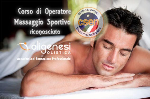 CORSO DI OPERATORE DEL MASSAGGIO SPORTIVO RICONOSCIUTO CSEN (94 ore) a Trento