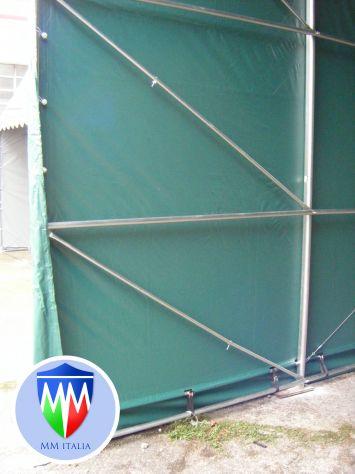 Tendoni Strutture Professionali 6 x 12 x 3,60 mt. telo Pvc Ignifugo MM - Foto 7