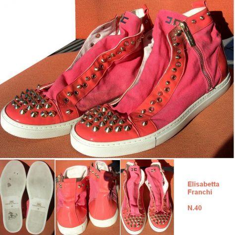 Scarpe donna Elisabetta Franchi Sneakers nr. 40 rosa  Composizione: Pe - Foto 2