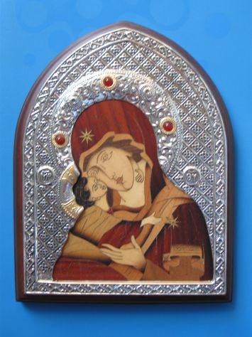 Icona in argento