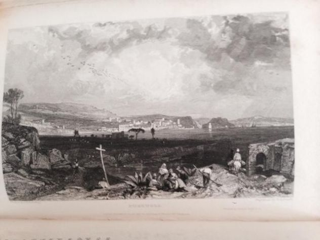 THOMAS ROSCOE THE TOURIST IN ITALY. LANDSCAPE ANNUAL 1832 - Foto 9