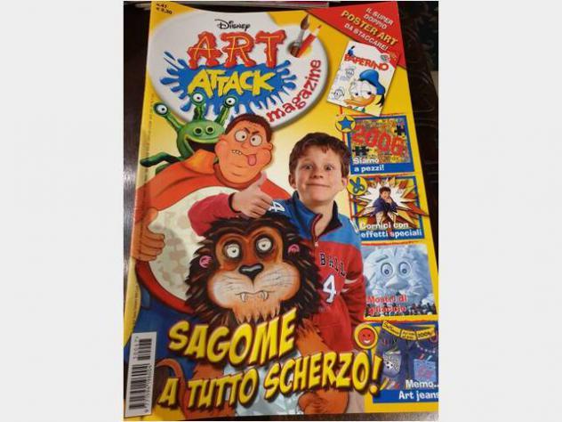 Giornalini per bambini Art attack gioco per bimbi Fascia di età6-12 anni