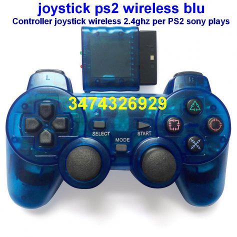 joystick PS2 wireless senza fili colore rosso - Foto 2