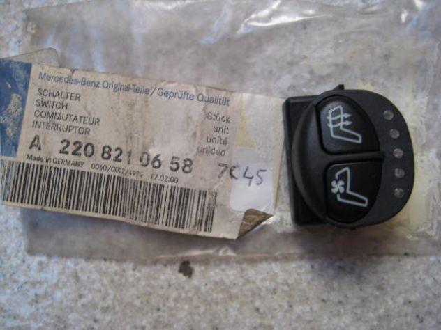 PULSANTE RISCALDAMENTO SEDILE ANTERIORE DESTRO MERCEDES CLASSE S A2208210658