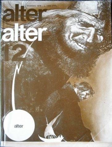 ALTER ALTER MILANO LIBRI 1978 ANNATA COMPLETA
