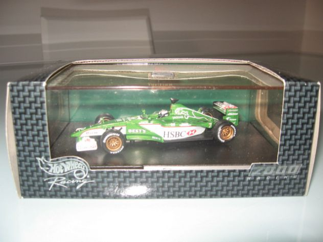 JAGUAR  R1 EDDIE IRVINE 2000 RACING HOT WHEELS