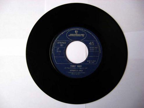 45 giri del 1970-Aphrodite 's Child-It 's five o 'clock - Foto 3