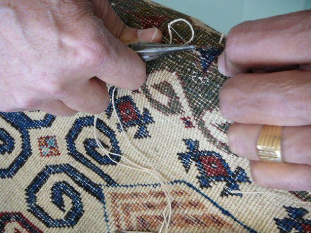Pulizia tappeti Trieste, lavaggio e restauro tappeti persiani Trieste - Foto 10