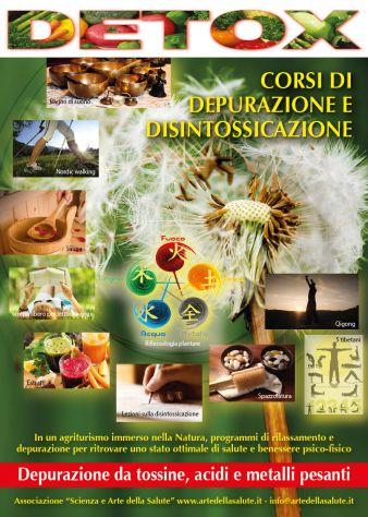 Detox ottobre 2019 - corsi di depurazione e disintossicazione