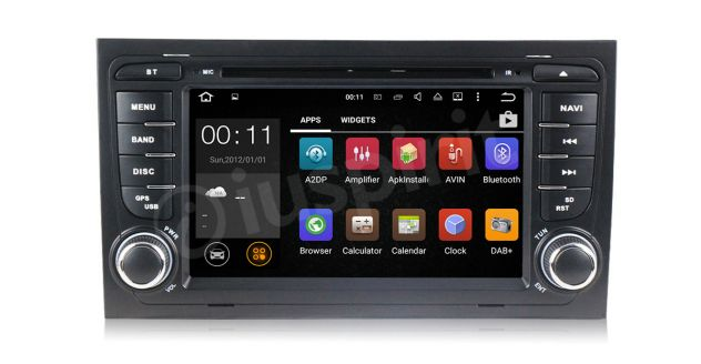 ANDROID 5.1 GPS 2 din autoradio navigatore Audi A4 S4 RS4 Seat Exeo - Foto 10