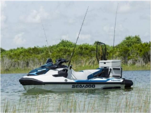 moto d'acquaSea Doo GTX FISH PRO 170 WHITE & - Foto 5