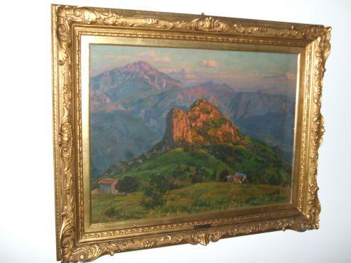 L. Pasini, importante dipinto a olio del 1925 - Foto 2