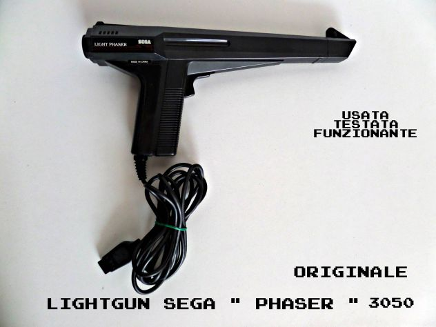 Pistola infrarossi SEGA Phaser 3050 (originale) vintage