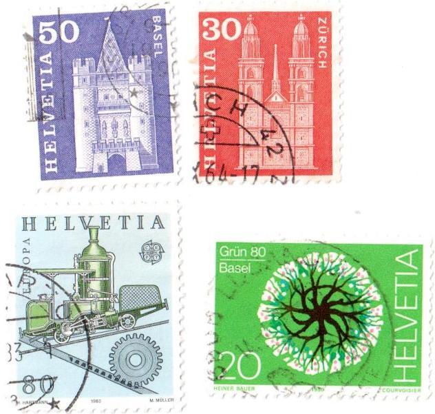 Francobolli da collezione Svizzera - Foto 3