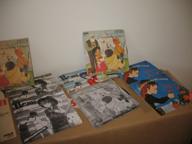 Dischi 45 giri cartoni animati anni 70 - Foto 3