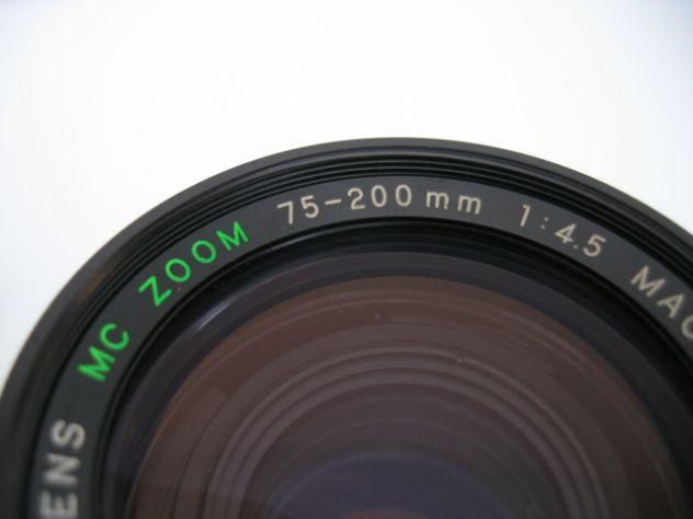 YASHICA MC ZOOM MACRO 75-200 mm. f/4.5 - Y/C - Foto 9