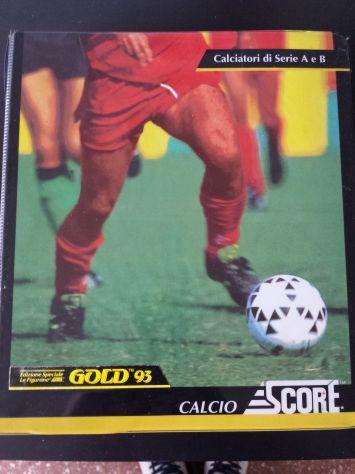Album Figurine Figurone calciatori SCORE 92-93 (e 93-94)