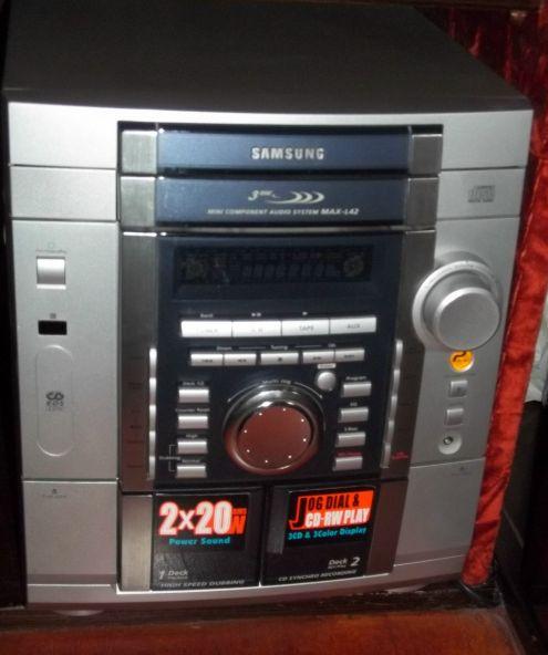 Stereo cd e caqssette