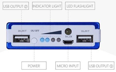 PowerBank 10000mAh - Batteria di ricarica per Smartphone e Tablet - Foto 3