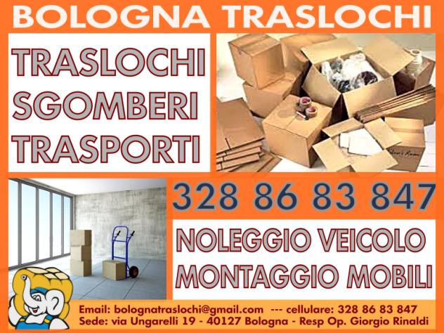 LO SGOMBERO FACILE A BOLOGNA - TRASLOCHI - MONTAGGIO ARREDI - Foto 2