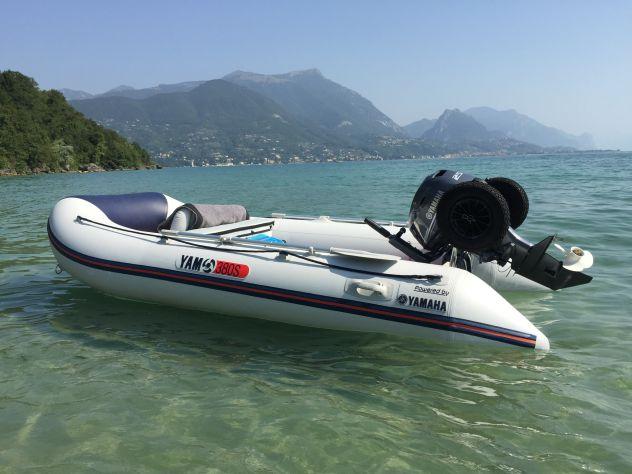 Noleggio barca gommone lago di Garda