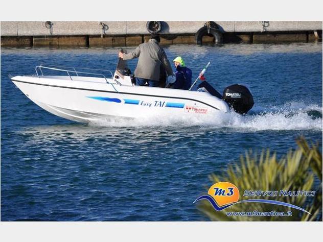 barca a motore Easy Tai 17 anno2005 lunghezza mt5 - Foto 5