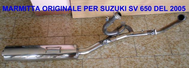 marmitta originale per SUZUKI SV 650 DEL 2005 - Foto 4