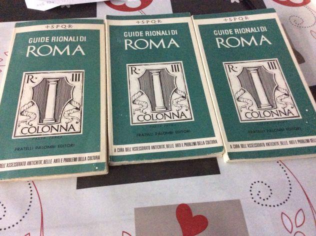 Guide Rionali di Roma, COLONNA, (3 vol.)