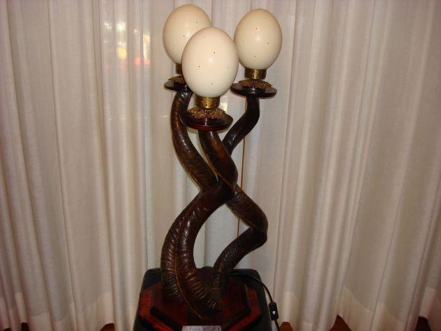 Eslusiva lampada africana