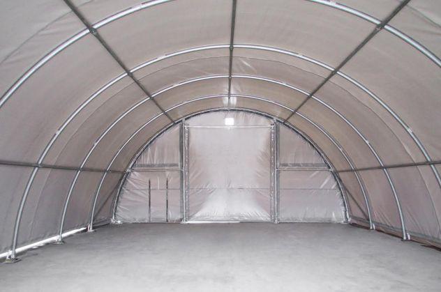 Agritunnel tunnel agricoli 9,15 x 16 x 4,5 professionali diam Ø 76 mm. - Foto 2