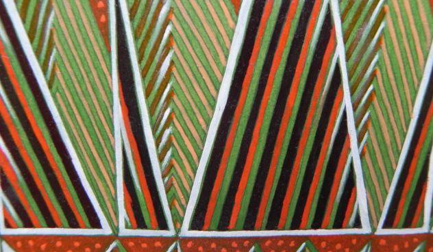 Dipinto ad olio su carta, astratto - Foto 6