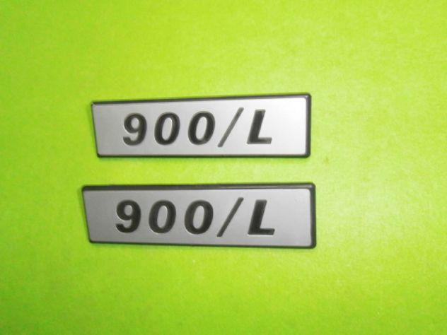 Scritte laterali Fiat 127 900L loghi targhette NUOVE