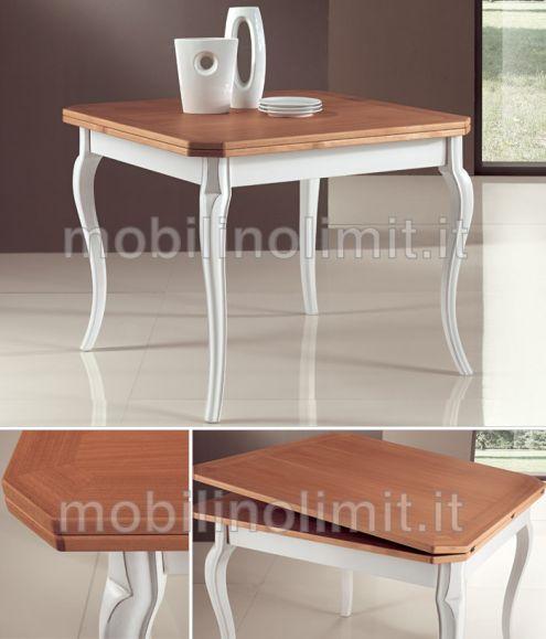 Tavolo a libro - Bianco Spigolato - Nuovo