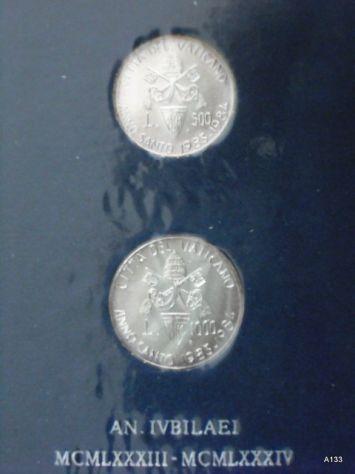 Vaticano argento giovanni paolo II anno santo 1983-84 (M16)