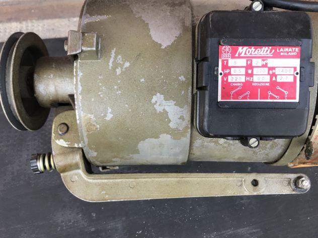 Motore usato monofase macchina cucire industriale