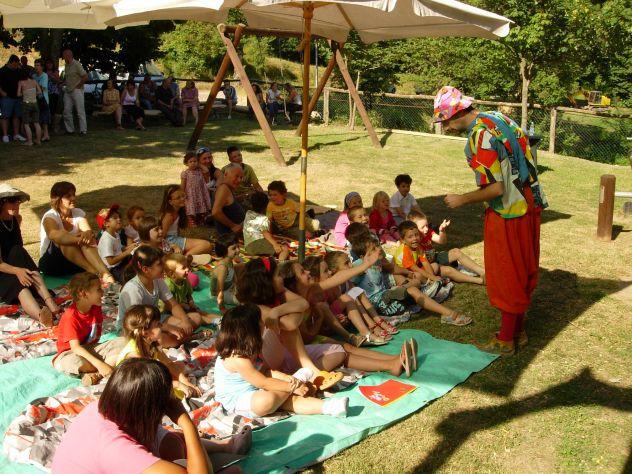 burattini comici magie da ridere animazione feste bambini mangiafuoco