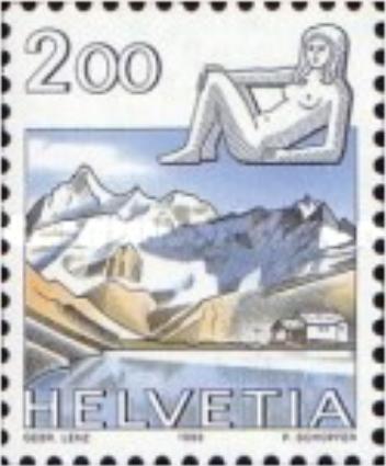 """Francobolli nuovi da collezione serie """"Zodiac"""" Svizzera - Foto 5"""