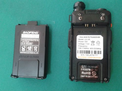 RADIO RICETRASMITTENTE DUAL BAND BAOFENG UV-5R VHF UHF - Foto 4