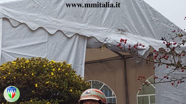 Tendoni per eventi , Bar, Ristoranti, Catering 5 x 8 x 2,6 mt. pvc 550 Ignifugo - Foto 6