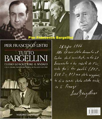 Tutto Bargellini, Pier Francesco Listri, Nardini Editore 1989.