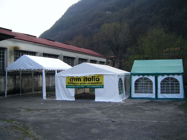 MM Italia Linea Mara Tendoni, Tenso 5 x 6 Pvc Ignifugo uso Pubblico - Foto 2