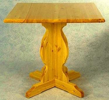 Arredamenti Pub : Tavoli in legno 70 x 70 062 Prezzo fabbrica
