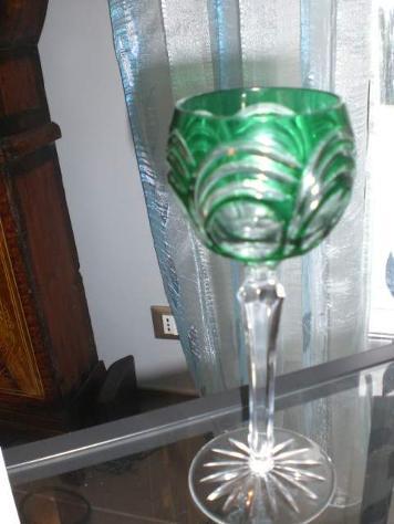 12 bicchieri cristallo Boemia lenticolari - Foto 3