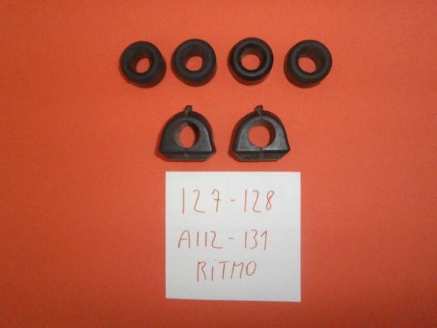 Tasselli gommini boccole barra stabilizzatrice Fiat 127 128 a112 131 ritmo NUOVI