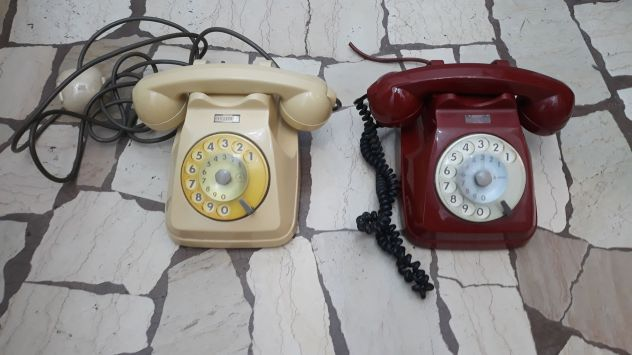 TELEFONI SIP GRIGI E COLORATI VINTAGE