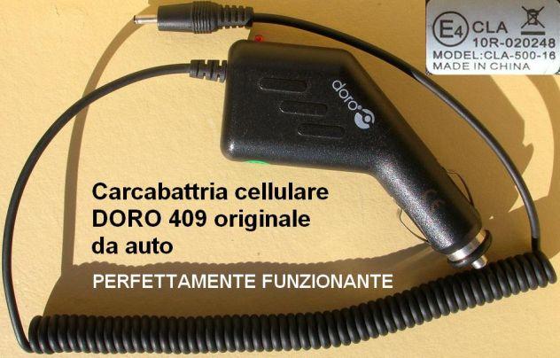 Caricabatteria auto Doro PhoneEasy/telefono facile 332 334 341 338 342