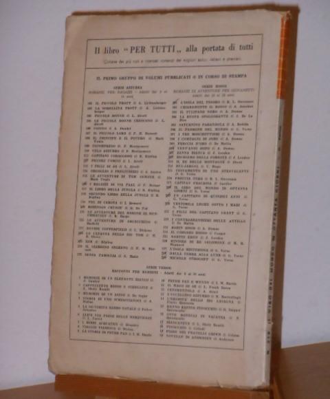 Il giro del mondo in ottanta giorni, Jules Verne, EDITRICE CAROCCIO MILANO 1951. - Foto 2
