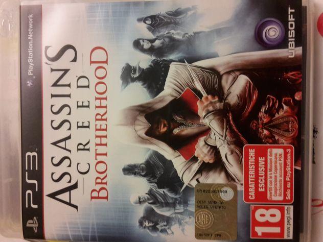 Gioco Originale Assassin Creed Brotherhood per Play Station 3 PS3