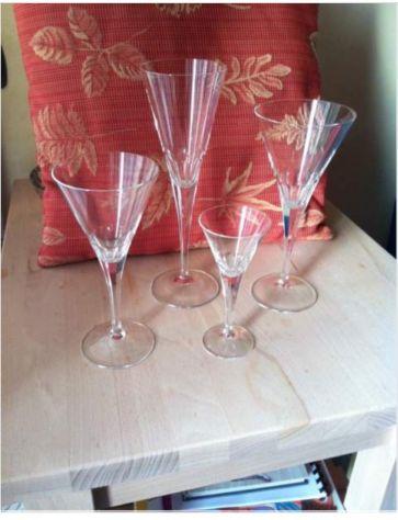 Servizio Bicchieri di Cristallo finissimo