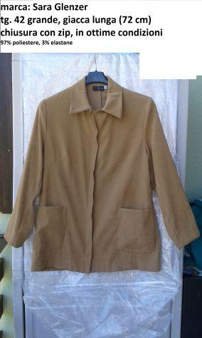 Tg. 42/44 giacca leggera Sara Glenzer